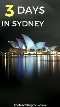 3 days in Sydney isn't enough to see everything in this great city, but you can still see a lot! There are a lot of things to do in Sydney, such as visit the Sydney Opera House and Harbour Bridge. If you want to know what to do in Sydney on a 3 day itinerary, this guide is for you!  3 day Sydney itinerary | where to stay in Sydney | places to visit in Sydney | where to go in Sydney | visit Sydney | Sydney, Australia | Sydney travel | places to go in Sydney #sydney #AustraliaTravel