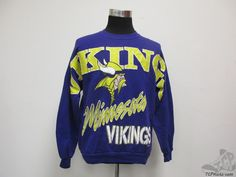 Vtg 90s Jerzees Minnesota Vikings Crewneck Sweatshirt sz XL Extra Large  Football  Jerzees  MinnesotaVikings  tcpkickz 6c116925f