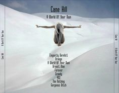 "Cane Hill ""A World Of Your Own"" CD cover design (back)"