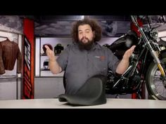 ▶ Danny Gray Buttcrack Solo Seat for Harley Review at RevZilla.com - YouTube