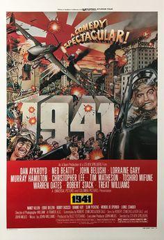 1941 Style D Movie Nancy Allen, Warren Oates, Slim Pickens, Tim Matheson, Robert Stack, Original Movie Posters, Film Posters, The Best Films