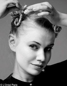 Comment onduler ses cheveux? La méthode macarons
