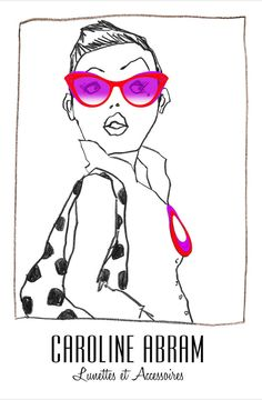 Caroline Abram now available in store at Madonna Rigney Optometry
