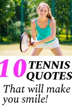 Tennis quotes can be used to inspire and motivate tennis players and teams. Read these tennis quotes before your next practice or tennis match to pump you up. Tennis Lessons, Tennis Tips, Sport Tennis, Inspirational Tennis Quotes, Tennis Funny, Funny Tennis Quotes, Tennis Techniques, How To Play Tennis, Athlete Quotes