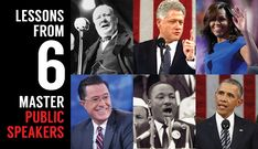 Presentation Lessons from 6 Master Public Speakers