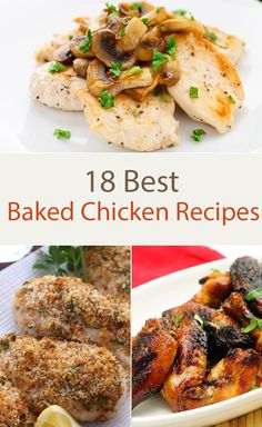18 Best Baked Chicken Recipes