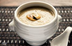 Creamy Zucchini And Mushroom Soup