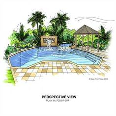 Swimming Pool Blueprints swimming pool plan design - very popular | easy pool plans