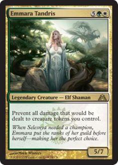 mtg-GREEN-WHITE-SELESNYA-TOKENS-DECK-Magic-the-Gathering-rare-cards-armada-wurm