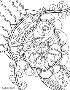 Best Images of Doodle Coloring Pages Owl Printable Bookmarks