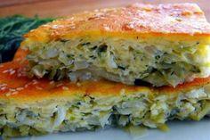 Быстрый пирог с капустой на кефире: порубил, залил — готово! — БУДЬ В ТЕМЕ