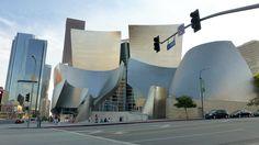 Walt Disney Music Hall. Downtown. Los Angeles, CA.