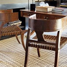 Masculine Style Office   Dens & Studies   LUXE Source