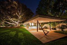 Brody House, Holmby Hills CA (1949) | A. Quincy Jones