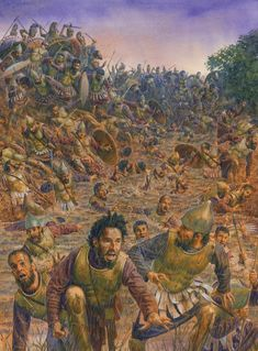 Destruction of the Carthaginian Sacred Band at the hands of Timoleon's Syracusan Greek forces at the Battle of the Krimissos River in 339 B. Classical Greece, Classical Antiquity, Greek History, Ancient History, Ancient Rome, Ancient Greece, Punic Wars, Greek Warrior, Medieval World