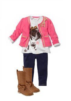 Preschool fashion for $100 at Gap #AmexBTS