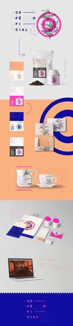 Café Oficial coffee cafe brand identity by UNIKA Coffee Shop Branding, Cafe Branding, Branding Agency, Corporate Design, Brand Identity Design, Branding Design, Desgin, Print Design, Web Design