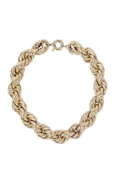 Options! Enhance your neckline with this Twisted-chain necklace. $118. http://bcbg.ma/QsoFGW