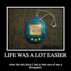 #tamagotchi lol blast from the past @lauriejacobson