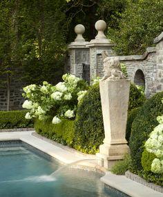 Howard design studio portfolio landscape pool garden grounds