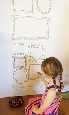 Using a range of creative materials/activities to develop fine motor skills