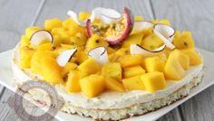 Tarte mangue et fruit de la passion inspirée d'Eric Kayser