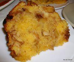 Receitas de Portugal: Bolo de Maçã Bolo Grande, Cornbread, Macaroni And Cheese, French Toast, Breakfast, Cake, Ethnic Recipes, Portugal, Desserts