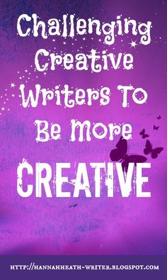 Tweet      I have always referred to myself as a creative writer. But recently I've started wondering…what does that even mean? Well, crea...