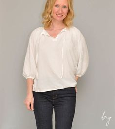 True Bias Roscoe Blouse: Two for the Win!
