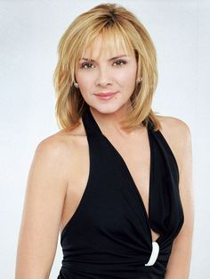Sex and the City: Kim Cattrall plays Samantha Jones, a public relations pro in New York.