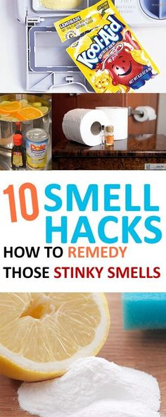 Smell Hacks-how to remedy those stinky smells 10 easy ways to get rid of those lingering smells in your home. Get your home smelling fresh in no easy ways to get rid of those lingering smells in your home. Get your home smelling fresh in no time! Cleaners Homemade, Diy Cleaners, Steam Cleaners, Cleaning Recipes, Cleaning Hacks, Hacks Diy, Cleaning Quotes, Lifehacks, Limpieza Natural