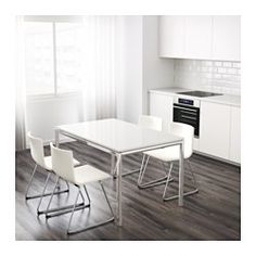 IKEA - TORSBY, Table, The high-gloss surface reflects light and gives a vibrant look.