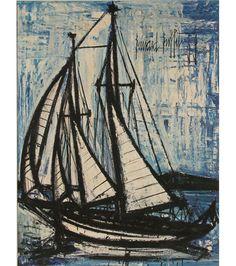 Bernard Buffet (1928-1999) Yacht 1959