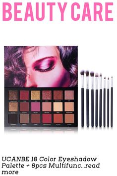 Color:18 Color Eyeshadow + 8pcs Brushes18 Color Eyeshadow Palette + 8pcs Multifunction Makeup Brushes Set Kit Net Weight:18 x 1g Shelf Life: 3 Years Highlights: Twilight and Dusk is the most necessary colors you need on an every day basis. This richly toned palette features 18 versatile shades that can be layered in infinite ways to create a vast array of looks with just one palette. Layer dif...