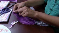 Mulher.com 08/05/2015 Edileny Gomes - Touca cozinheiro em tecido Parte 2/2