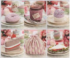 Knitting Pattern cakes sandwiches tea cosy toy food tea time gifts