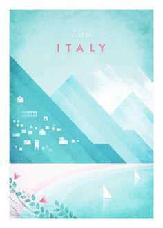 Visit Italy Plakat