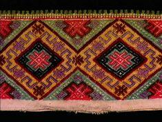 Skjorte, krage til Krage, Norway, Folk, Bohemian Rug, Cross Stitch, Costumes, Decor, Punto De Cruz, Decoration