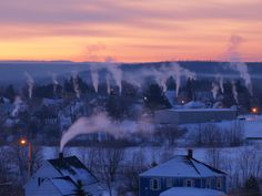This is what a cold morning in Maine looks like...Paul Cyr Photography