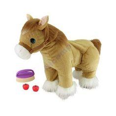 Interaktywny koń kucyk chodzi