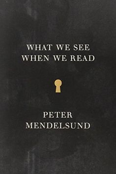 What We See When We Read, 2014 The New York Times Best Sellers Education Books winner, Peter Mendelsund #NYTime #GoodReads #Books