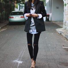 Sweatshirts You Can Wear to Work   POPSUGAR Fashion