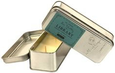 Paddywax Candles Library Collection Leo Tolstoy Scented Travel Tin Soy Wax Candle (Black Plum, Persimmon, Oakmoss) -- More info could be found at the image url.