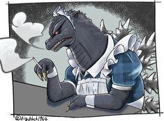 King Kong, Godzilla 2, Predator, Monsters, Funny Memes, Memories, Comics, Drawings, Memoirs