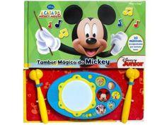 Livro Infantil A Casa Do Mickey Mouse - Tambor Mágico do Mickey DCL