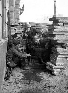 Anti-Worlds: Polish insurgents of the Polish Home Army rest...