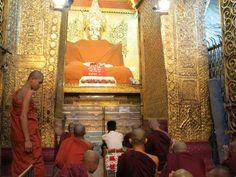 Tazaungdaing festival in Mandalay