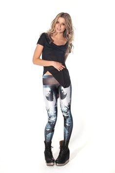 Frozen Solo Leggings (Black Milk Clothing)