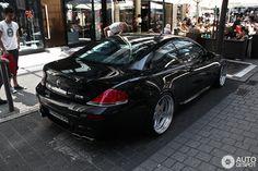 BMW in Frankfurt am Main, Germany Spotted on by LuxurySpottings Bmw M6 Coupe, Bmw 650i, Bmw Classic Cars, Bmw 7 Series, Bmw Love, Bmw Cars, Vroom Vroom, Car Stuff, Toys For Boys