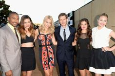 What a stunning cast! #TCA2013